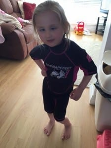 Wetsuit for Heartchild Apr 2015
